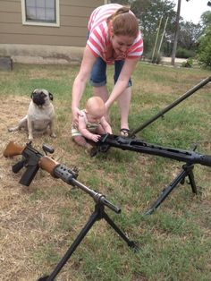 Bad parenting TO THE EXTREME. What kind of hillbilly, redneck brain dead woman would think this is a good idea?