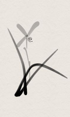 Made with Zen Brush app on my smartphone (with finger)