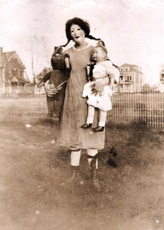 Vintage Creepy Halloween Costume