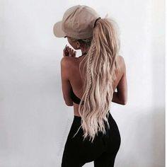 Imagem de hair, blonde, and fashion