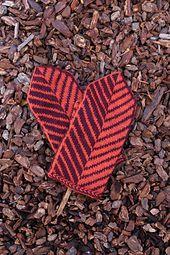 Ravelry: Vector Mittens pattern by Kimberly Voisin
