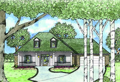 Handicapped Accessible - 8423JH | Country, Southern, 1st Floor Master Suite, Handicapped Accessible, Jack & Jill Bath, PDF, Split Bedrooms | Architectural Designs