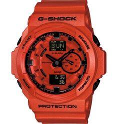G-Shock GA150A-4A Classic Series Stylish Watch - Metallic Orange