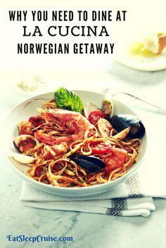 La Cucina on Norwegian Getaway- Restaurant Review