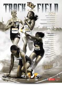 2014 UCF Track Poster