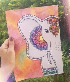 KaktusKaktusKaktus Kaktus – things i want – dibujo Cool Art Drawings, Doodle Drawings, Easy Drawings, Art Sketches, Mandala Art Lesson, Mandala Drawing, Dibujos Zentangle Art, Doodle Art Designs, Sharpie Art