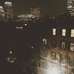 City life. #city#boston#indie #grunge#night#photography#college#bostonuniversity by samsubbuteo