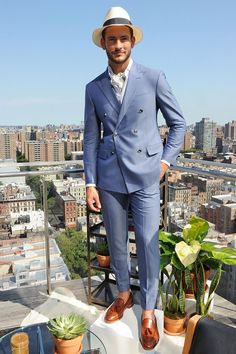Hickey Freeman Spring Summer 2016 Primavera Verano - #Menswear #Trends #Tendencias #Moda Hombre - New York Fashion Week - Male Fashion Trends