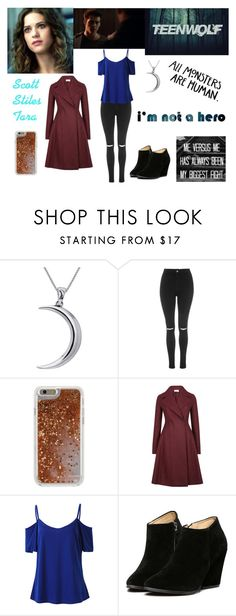 """""""Teen Wolf """"Season 3, Episode 6, Read The Description"""""""" by mundca ❤ liked on Polyvore featuring Carolina Glamour Collection, Episode, Topshop, Agent 18 and Harris Wharf London"""