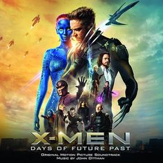 John Ottman X-Men: Days Of Future Past - Original Motion Picture Soundtrack on Limited Edition Colored 180g Vinyl 2LP