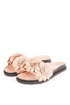 70391833e392 HEATHER Flower Footbed Sandals - Shoes