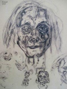 autoportrait artaud