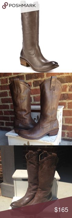 Frye Carson Leather Pull On Boot Size 7.5 These boots are in excellent used condition. Wore 2x. Leather is soft and comfortable! If you have any questions or concerns please let me know. Thank you for looking at my listing. Have a great day! Frye Shoes Heeled Boots