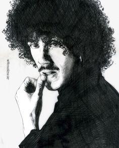jim fitzpatrick phil lynott - Google Search Jim Fitzpatrick, Thin Lizzy, Rock Legends, Music Stuff, The Man, Family Guy, Singer, Artwork, Fictional Characters