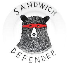 For the possessive sandwich eater.