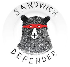 For the possessive sandwich eater.