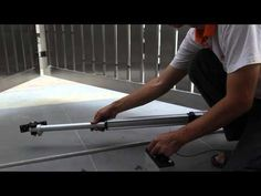Samcoma gate opener installation video ( 5 of 10 ) - YouTube