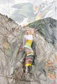 natargeorgiou S/S '12 Campaign    #mixed_media   http://www.natargeorgiou.com/