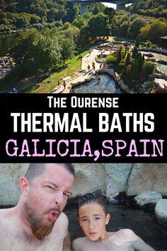 The Ourense thermal baths: #HotSprings in #Galicia, Spain #Spain #Travel #FamilyTravel