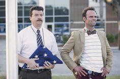 Danny McBride and Walton Goggins in Vice Principals