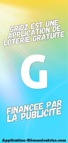 Gridz est une application de loterie gratuite financée par la publicité. Vous pouvez gagner jusqu'à 10 000€ chaque jour, sans dépenser d'argent. Piano Music Easy, Applique, Bons Plans, Tech Companies, Affirmations, Company Logo, How To Become Wealthy, Money Saving Tips, Best Apps