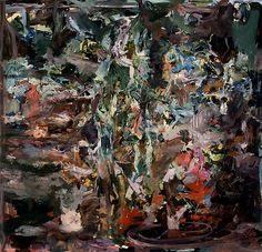 CECILY BROWN Study for Sam Mere 4, 2008 Oil on linen 85 x 89 inches (215.9 x 226.1 cm)
