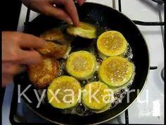 Замечательные кабачки с мясом в кляре. Попробуйте приготовить! Подробный рецепт здесь - http://kyxarka.ru/news/1378.html