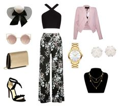 Style 1 by isablund on Polyvore featuring BCBGMAXAZRIA, M&Co, Alexandre Birman, Movado, Chanel and MANGO