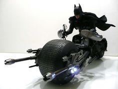 Dark Knight Bat-pod... :D i simply love batman!