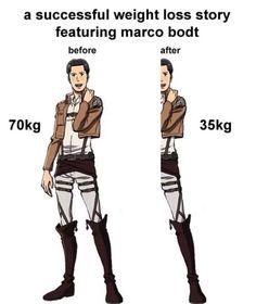 This Fandom will never stop with the Marco jokes