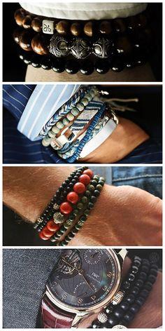 b4e8ba50047d Men s bracelets made of wood