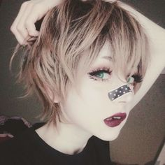 Anzujaamu sem me surpreende Yasss do amor Girl Short Hair, Short Hair Cuts, Short Hair Styles, Soft Grunge Hair, Hair Reference, Look Cool, Hair Inspo, Cute Hairstyles, Makeup Inspiration