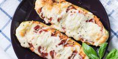Leckere Low Carb Zucchini Schiffchen – schnell & einfach