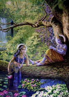Radha and Krishna Krishna Radha, Krishna Lila, Jai Shree Krishna, Durga, Lord Krishna Images, Radha Krishna Pictures, Krishna Photos, Hindus, Krishna Painting