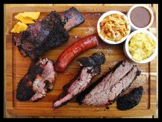 Back Door Barbecue in Oklahoma City serves up a unique combination of meats and sides. Find everything from spare ribs and creamed corn to ginger-jalapeno smoked sirloin and fried onions at this delicious restaurant.