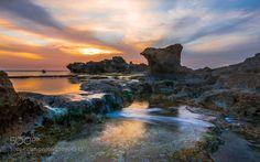 Low Tide Mediterranean 2 by Isamtelhami. @go4fotos