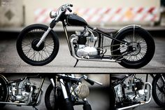 Butch Walker's #Custom #Triumph T100 #Motorcycle by The Factory Metal Works