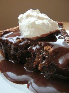 Chocolate Graham Cracker Cake...