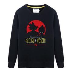 >> Click to Buy << Dragon Ball Son Goku VS Vegeta Printed Hooded Sweatshirt New Fashion Goku Male Hoody Autumn & Winter Pullovers #Affiliate