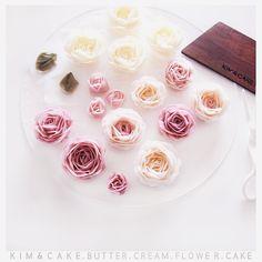 KIM&CAKE signature rose and David Austin rose…