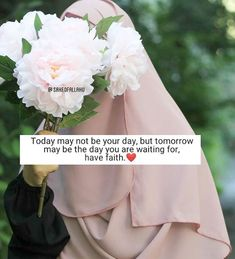 Muslim Quotes, Islamic Quotes, Islamic Messages, Peaceful Life, Allah Islam, Muslim Girls, Have Faith, Good Morning Images, Love Flowers