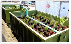 Splash boxx: Rain Gardens in Roll-Off Containers