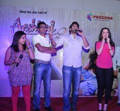 """Aditya Roy Kapoor & Shraddha Kapoor  at Prozone Mall, Aurangabad for their upcoming movie promotion """"Aashiqui 2"""""""