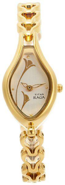 Titan Raga Analog Off-White Dial Women's Watch
