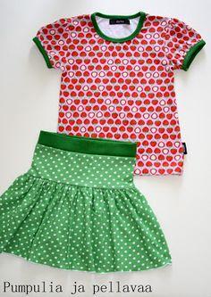 Pumpulia ja pellavaa: T-paita  Ottobre 3/2012