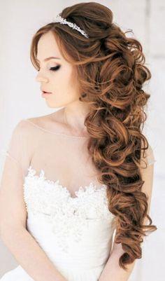 Peinado para boda.