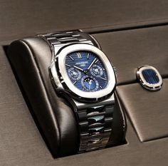 patek philippe iced out Patek Watches, Old Watches, Swiss Army Watches, Fine Watches, Stylish Watches, Luxury Watches For Men, Patek Philippe Nautilus, Hand Watch, Beautiful Watches