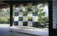 Checkerboard textile of indigo-dyed hemp by Hiroyuki Shindo | Flickr - Photo Sharing!