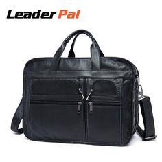 06a06cc559c9 Top Quality Oil Leather Men Bag Men Messenger Bags Casual Briefcase  Business Shoulder Handbags Genuine Leather