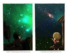 Little Spock n Little Kirk  : ST - Distance by nat-ong.deviantart.com on @deviantART